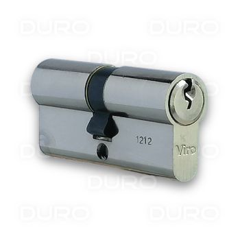 VIRO 920.15.9 - Euro Profile Double Cylinder - Nickel Plated Brass Body