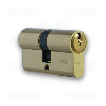 VIRO 920.3 - Euro Profile Double Cylinder - Brass Body