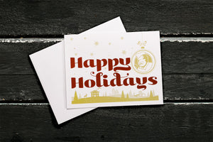 Dreamland Greeting Card - Happy Holidays