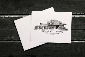 Dreamland Greeting Card - Shack - $.50