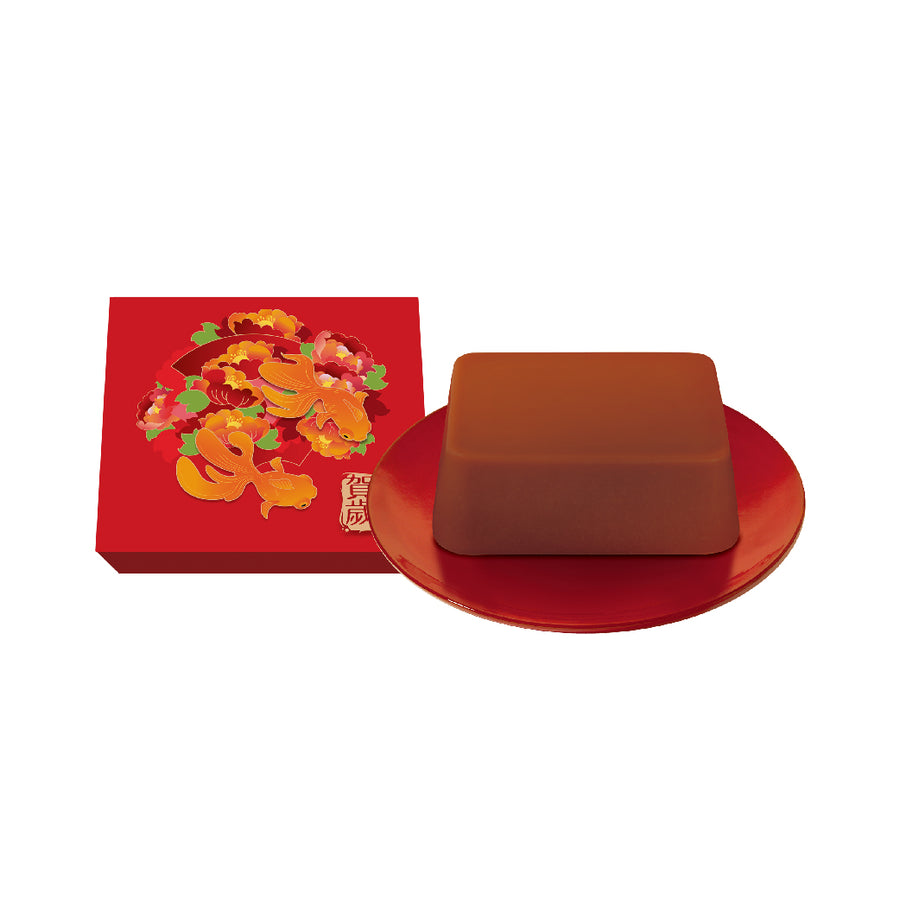 Chinese New Year Pudding with Date 紅棗糖年糕 ( 635g)