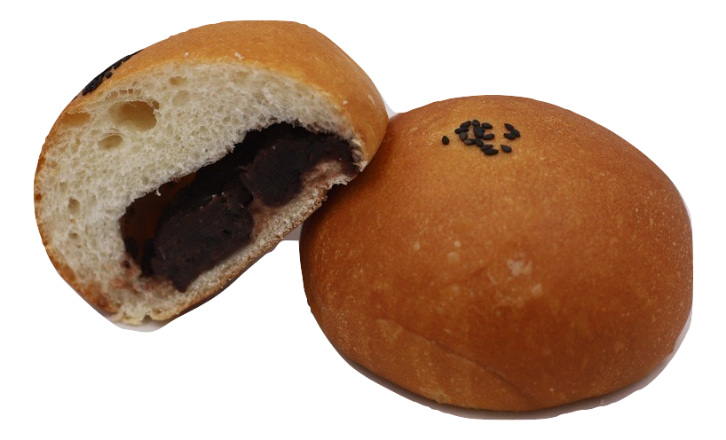 Red Bean Paste Bun 豆沙飽