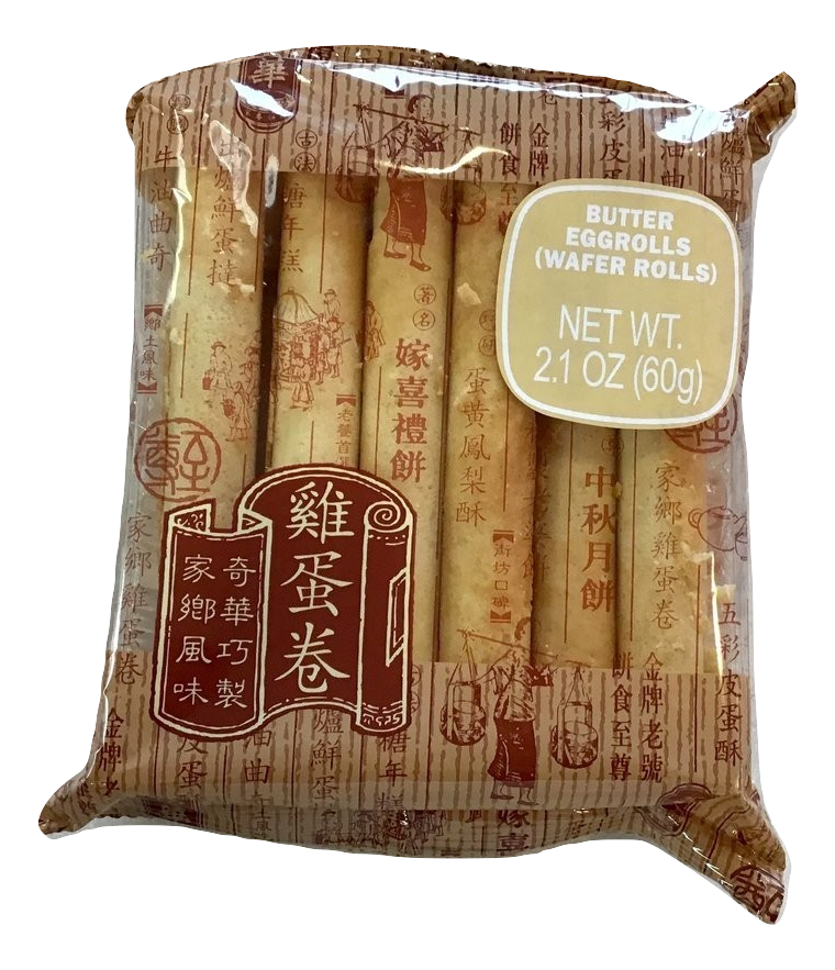 Butter Eggroll 12 pc pack  牛油鷄蛋卷
