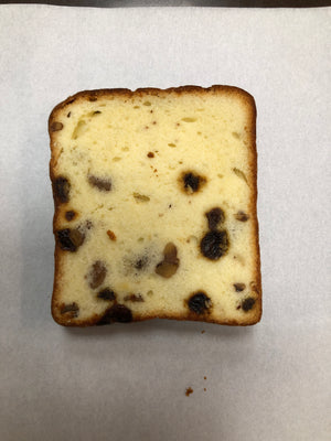 Raisin Walnut Pound Cake 合桃牛油蛋糕