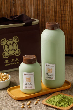 US Soypresso Soy Milk - green tea 濃豆乳抹茶豆漿