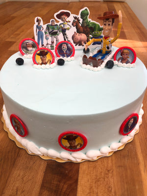Cartoon Party Cake 卡通派對蛋糕
