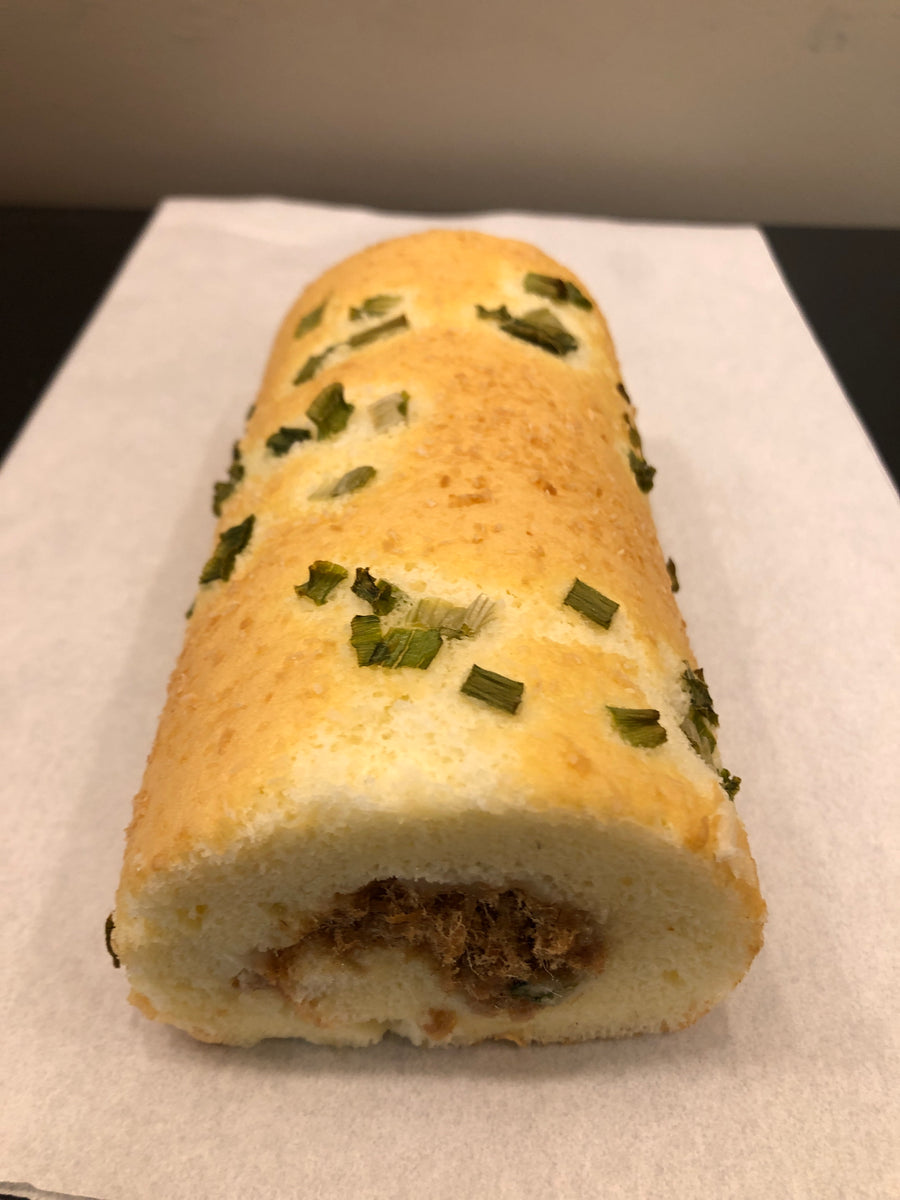 Green Onion Dried Pork Roll 蔥花肉鬆卷