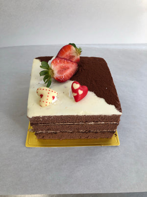Valentines Chocolate Cake 朱古力情人節蛋糕