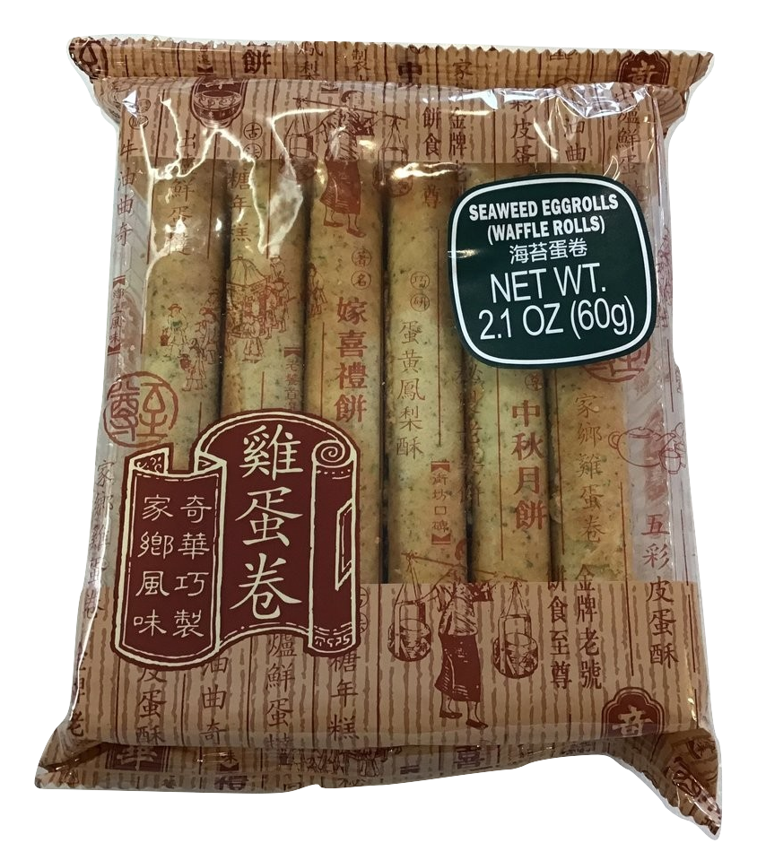 Seaweed Eggroll 12 pc pack 海苔蛋卷