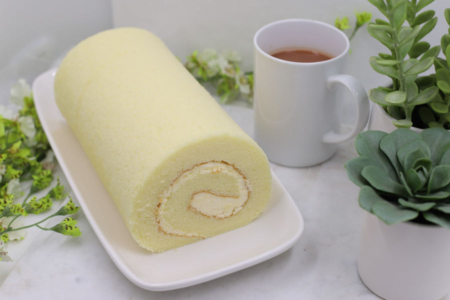 Vanilla Swiss Roll 香草瑞士卷