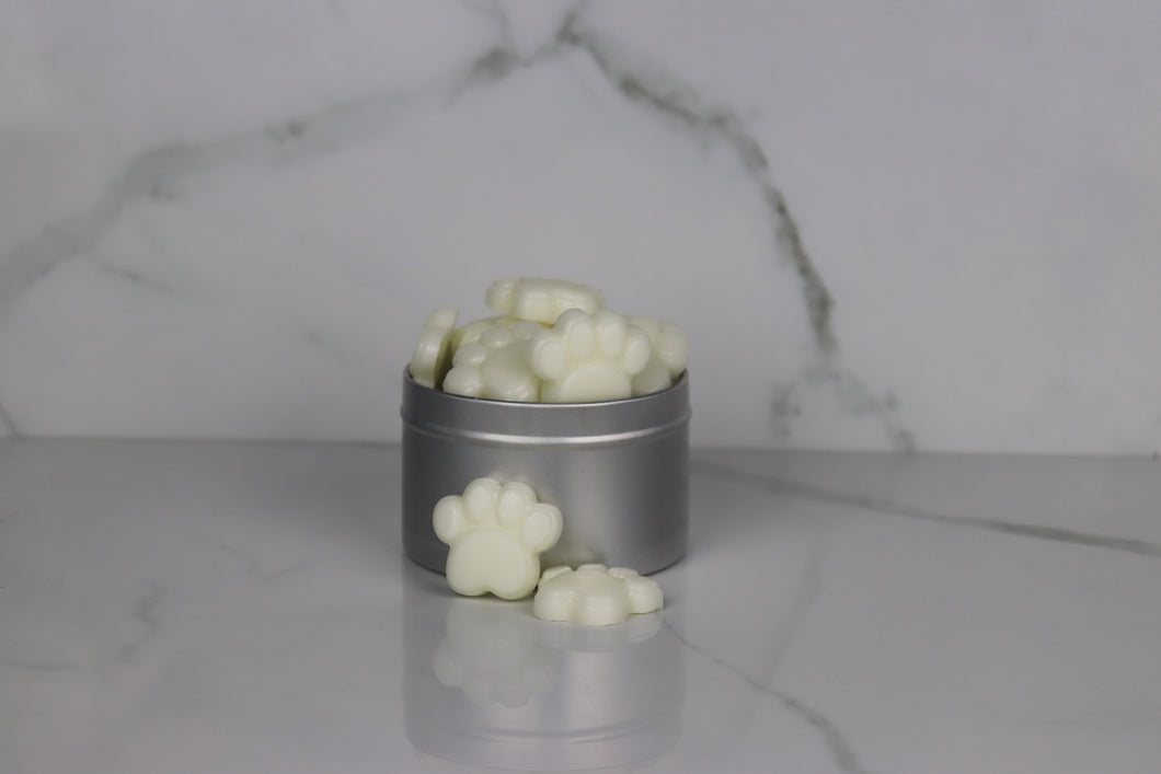 Vanilla Sandalwood Wax Melt Paws (12)