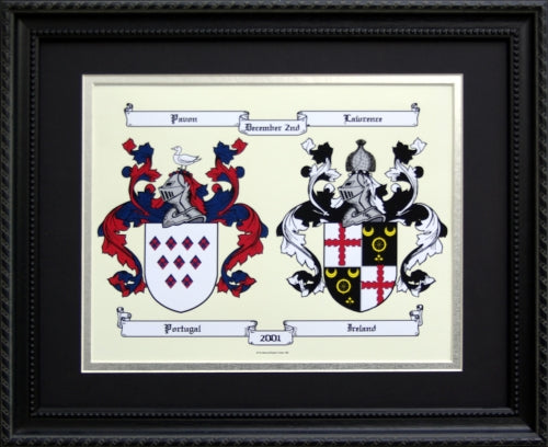 Double Coat of Arms Graphic | The Name Tree