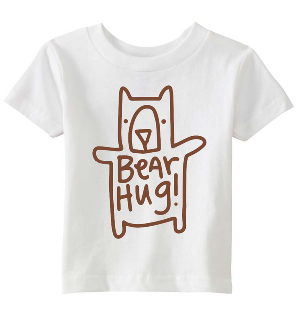 Bear Hug, Little Kid T-Shirt