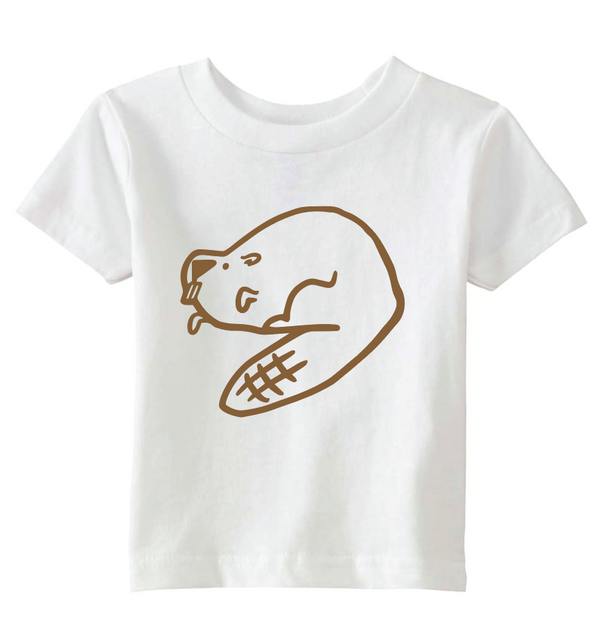 Beaver, Little Kid T-Shirt
