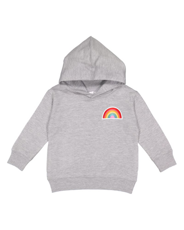 Rainbow Patch Toddler Hoodie