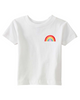 Retro Rainbow Patch, Little Kid T-Shirt