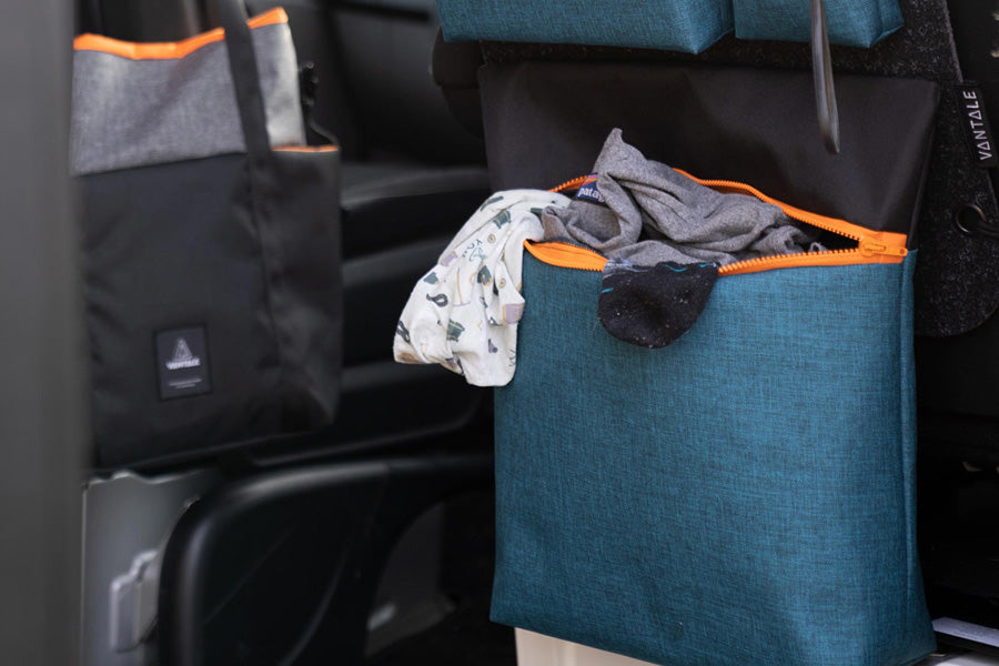 The Laundrygg – the latest addition to the RYGG module family takes care of the laundry in your camping van