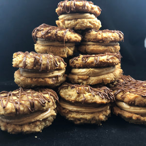 Peanut Butter Sandwich Cookies(GS)