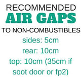 Recommended Airgaps