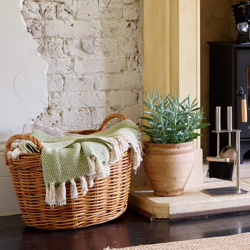 The Stove Fitter's Warehouse Barley fireside log basket