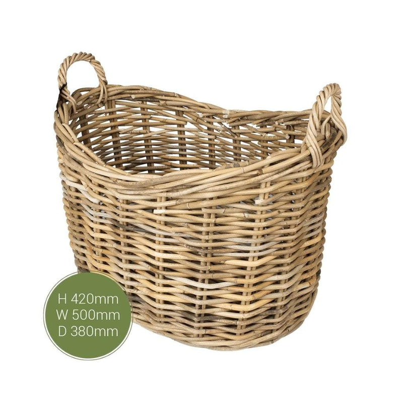 The Stove Fitter's Warehouse Dassels fireside log basket