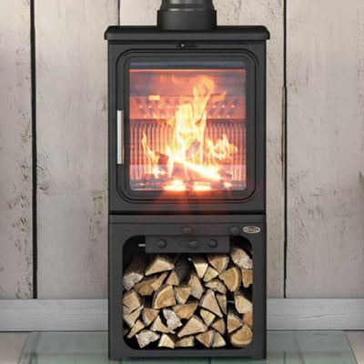 Stovefitter's Warehouse Henley Oakwood Mid Wood Burning Stove 5KW