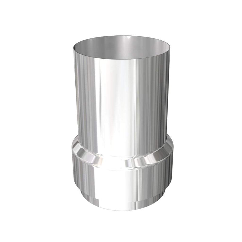 Flue Ducting Materials Bits n Bobs: LONG NOSE flue adaptor (NO BOLTS)