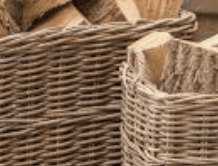 The Stove Fitter's Warehouse SOLD WITH STOVE: Log basket
