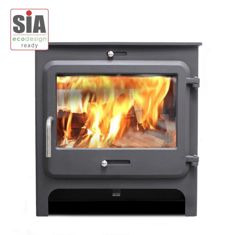 Ekol Stoves Standard Ekol Clarity Vision 5 Stove Ecodesign Wood Burning Stove