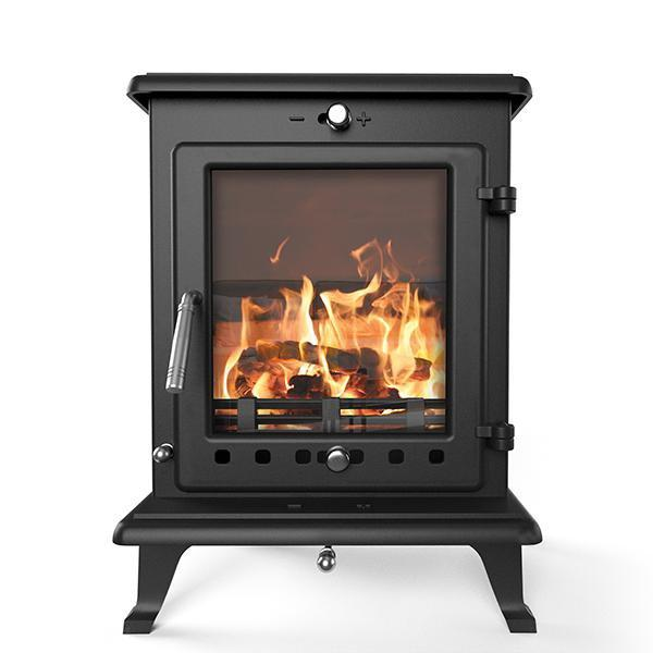 "Ekol Stoves Ekol Crystal 8 Stove ""Just Don't Call Me Old-Fashioned"" Ecodesign Wood Burning Stove"