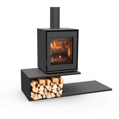 DG Stoves Floating Plateau Dik Guerts DG Modivar 5 Wood Burning Stove 45x56cm