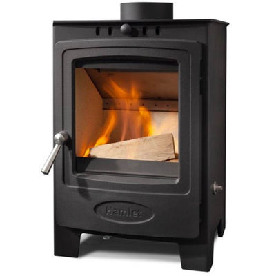 Hamlet Stoves Hamlet Solution 5 Compact Wood Burning Stove 40 X 55cm