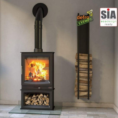 Henley Stoves Henley Burnbright Wood Burning Stove 5kw