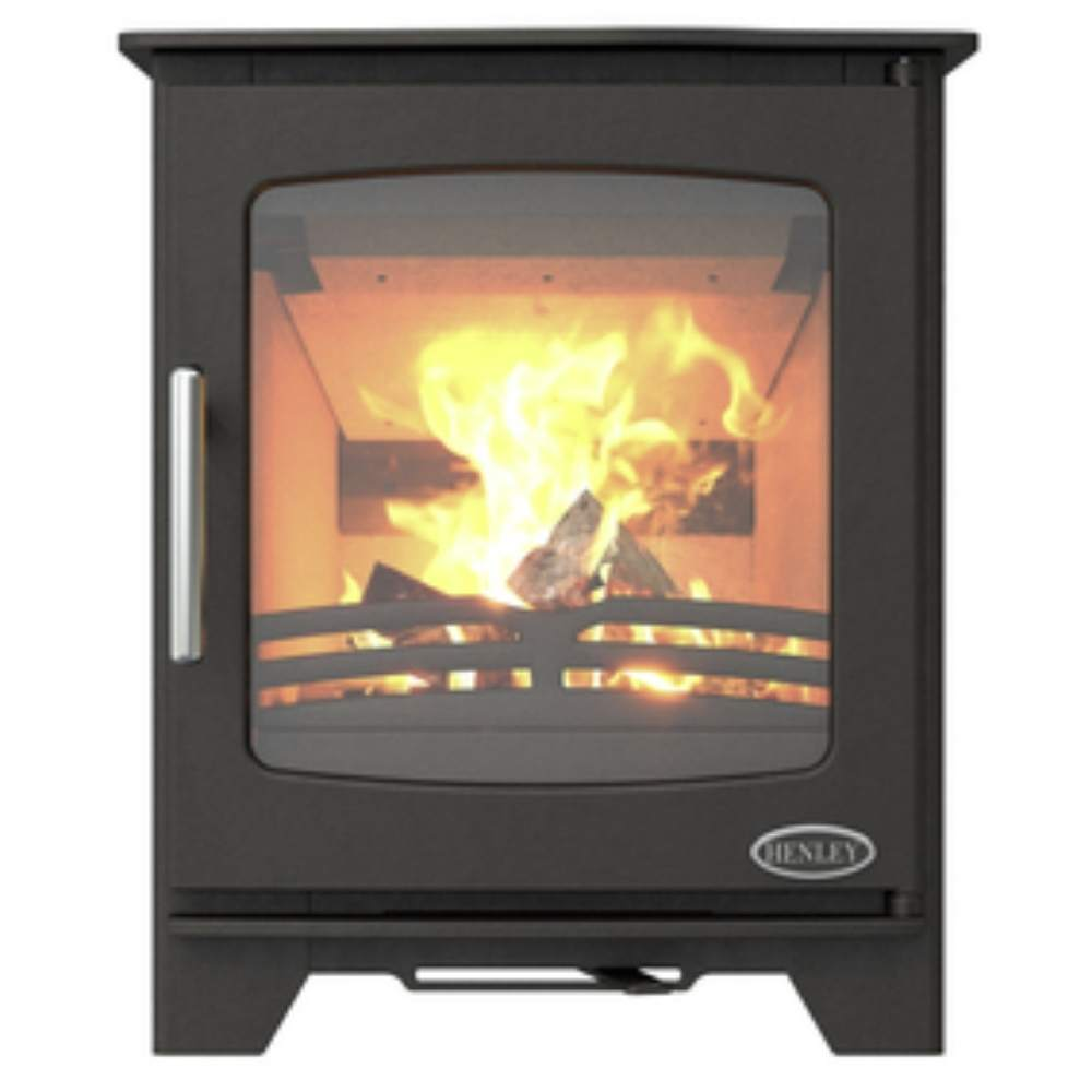 Henley Stoves Henley Hazelwood Compact Wood Burning Stove 5KW
