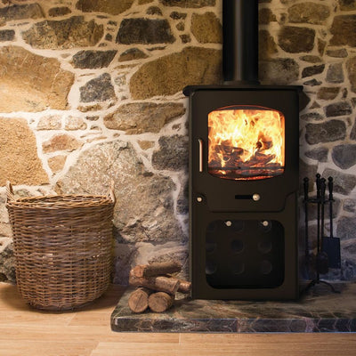 Saltfire Stoves Saltfire ST-X4 Stove Ecodesign Wood Burning Stove