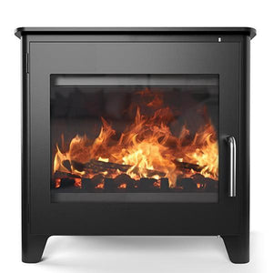 "Saltfire Stoves Saltfire ST3 7kW Stove ""Happy On The Wallet"" Ecodesign Wood Burning Stove"