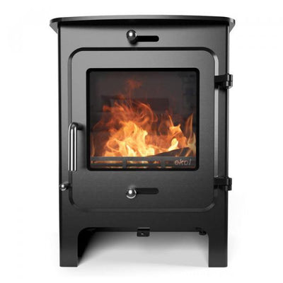 "Ekol Stoves Standard Ekol Clarity 5 Stove ""Eko Warrior"" Ecodesign Wood Burning Stove"