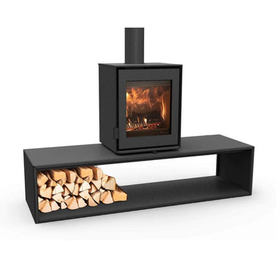 DG Stoves Straight Plateau Dik Guerts DG Modivar 5 Wood Burning Stove 45x56cm