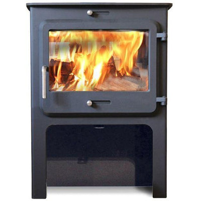 Ekol Stoves With high legs Ekol Clarity Vision 5 Stove Ecodesign Wood Burning Stove