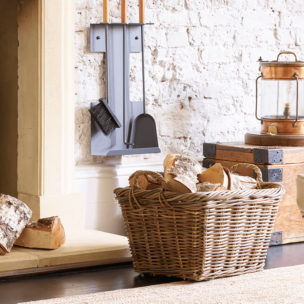 The Stove Fitter's Warehouse Therfield fireside log basket