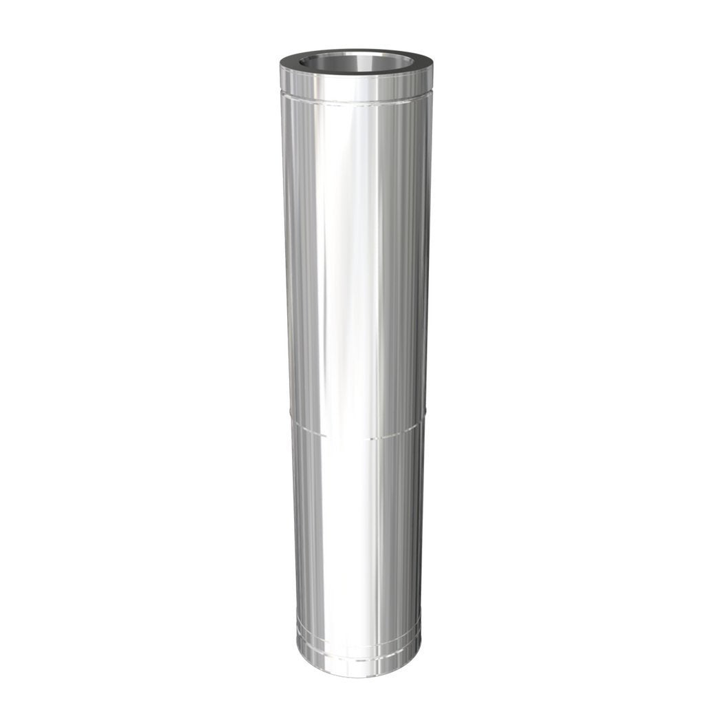 Flue Ducting Twin Wall Flue Twin wall: 590mm - 1005mm adjustable length with extra insulation