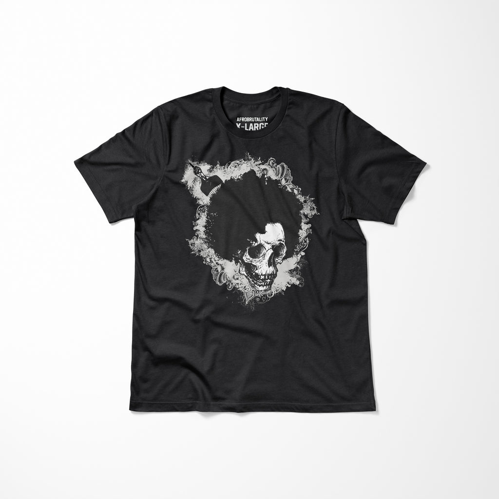 Black AfroBrutality Men's T-Shirt