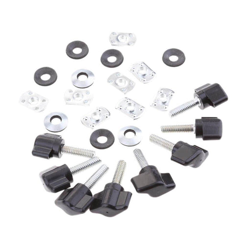 Quick Removal Fastener Thumb Screw Kits For Jeep Wrangler Jeep accessories Dashery Box