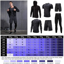 Load image into Gallery viewer, REXCHI 5 Pcs/Set Men's Gym wear TheSwiftzy