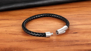 Classic Leather Bracelet - Dashery Box