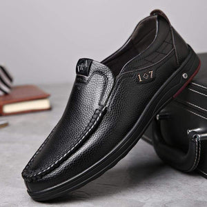 Leather Loafer Slip-ons TheSwiftzy