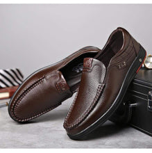 Load image into Gallery viewer, Leather Loafer Slip-ons TheSwiftzy