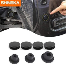 Load image into Gallery viewer, SHINEKA Aeccessories For Jeep Wrangler JL 2019 Floor Pan Drain Plug Rear Floor Pan Body Plug Rubber Plug For Jeep Wrangler JK JL Jeep accessories Dashery Box JK JL 02537