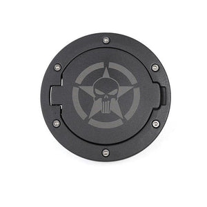 Fuel Tank Cap Cover Jeep accessories Dashery Box China skull