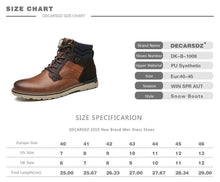Load image into Gallery viewer, Leather Winter Boots Dashery Box